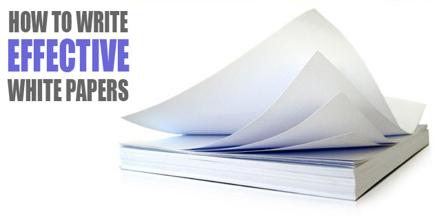 Why And How To Write A White Paper - Inspira